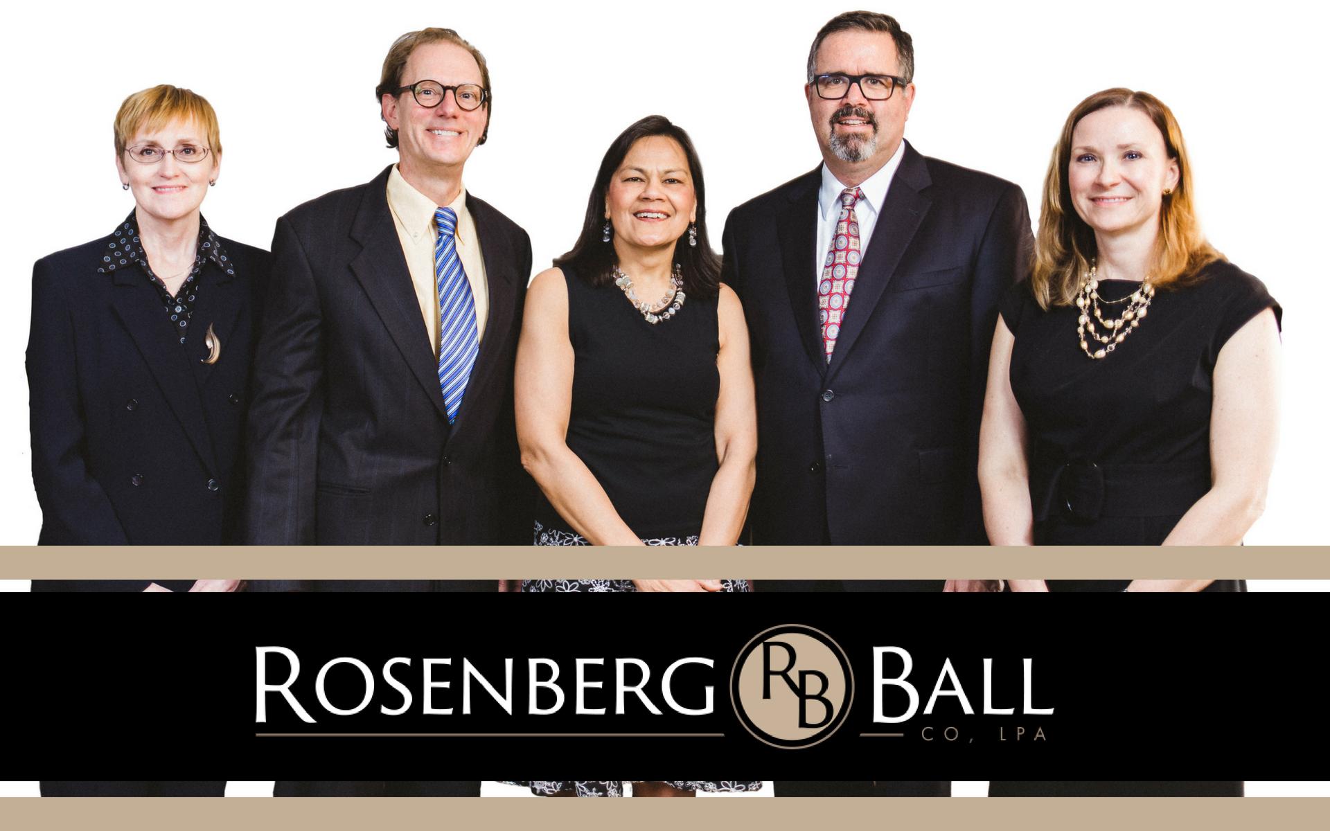 RosenbergBallJune2018